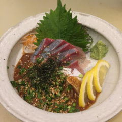 鮮魚メニュー